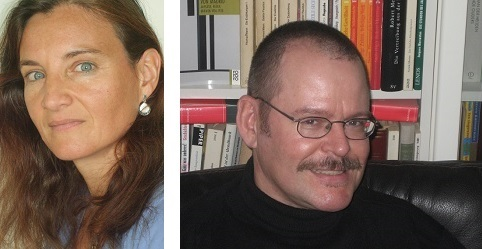 Bettina Bach (links) en Rainer Kersten (rechts)