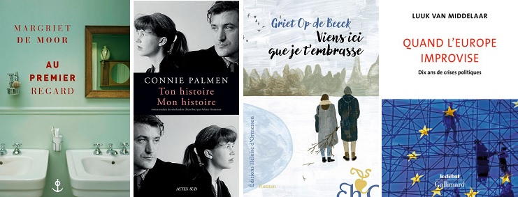 four French book covers