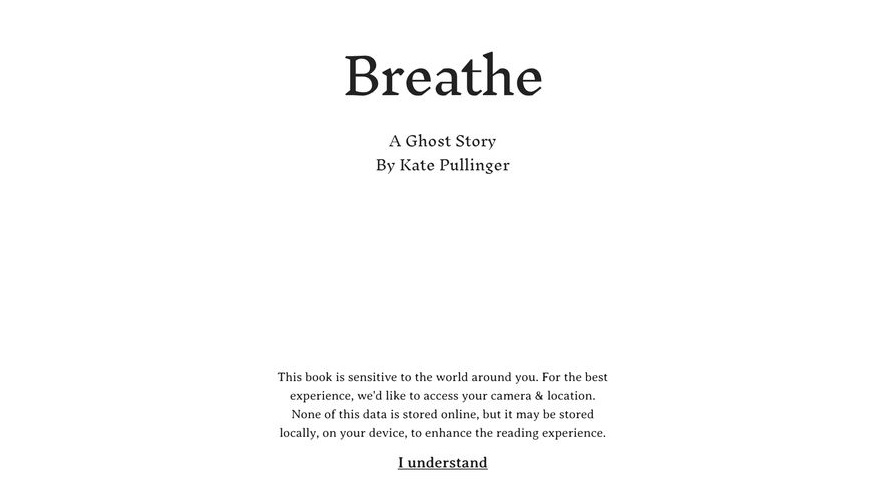 Breathe. A Ghost Story - Kate Pullinger